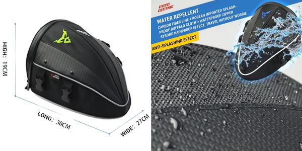 Mochila impermeable para motocicleta chollo en AliExpress