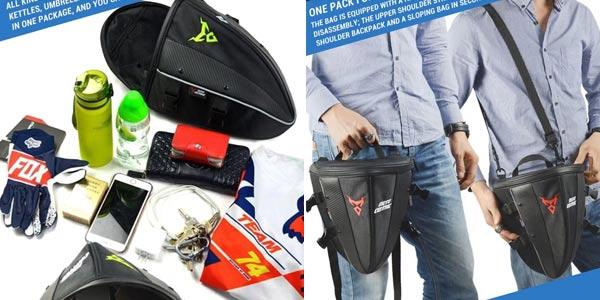 Mochila impermeable para motocicleta oferta en AliExpress