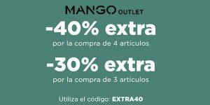 Mango outlet rebajas junio 2021