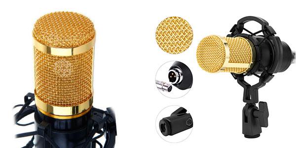 Micrófono condensador BM-800 barato