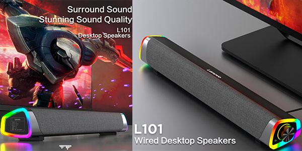 Mini barra de sonido Lenovo L101 barata