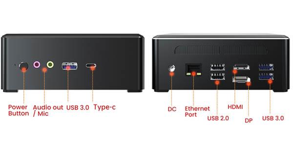 Mini PC TBOOK MN27 barato