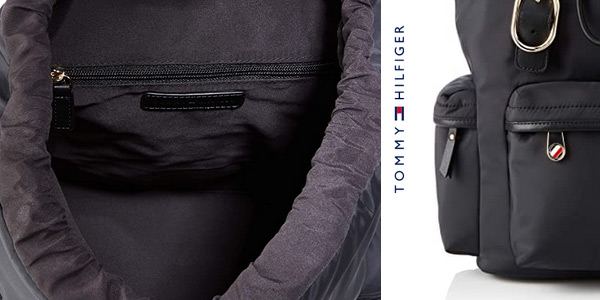 Mochila Tommy Hilfiger Recycled Nylon Backpack para mujer chollo en Amazon