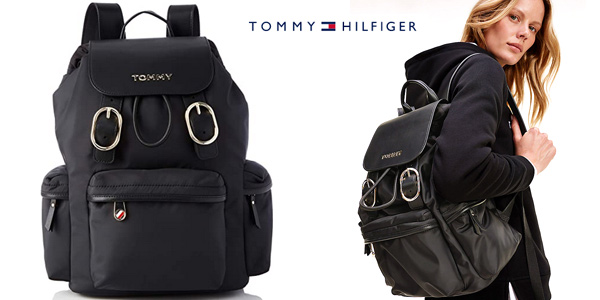 Mochila Tommy Hilfiger Recycled Nylon Backpack para mujer barata en Amazon