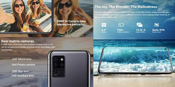 Oukitel C21 Android 10 4GB 64GB smartphone oferta
