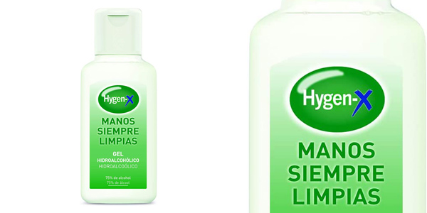 Pack x12 Hygen-X Gel Hidroalcohólico Desinfectante para Manos de 230 ml/ud chollo en Amazon