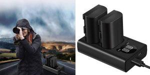 Comprar Pack x2 Baterías Canon + cargador barato en Amazon
