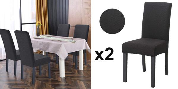 Set x2 Fundas elásticas para sillas O'woda barato en Amazon