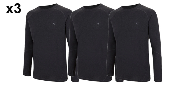 Pack 3 Camisetas térmicas Boomerang para hombre baratas en El Corte Inglés