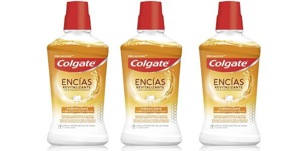 Pack x3 botes Colgate Elixir Encias Revitalizante de 500 ml/ud barato en Amazon