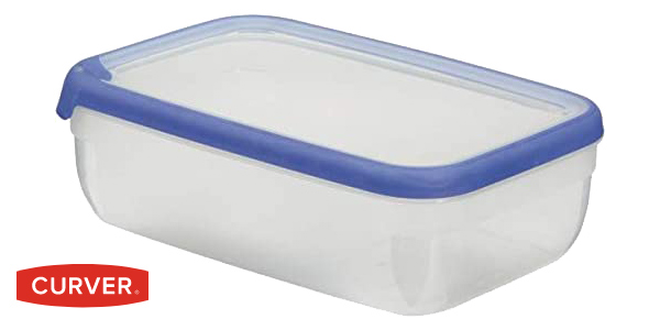 Pack x3 Botes Herméticos Curver Grand Chef de 4L (28 x 18 x 7,4 cm) chollo en Amazon