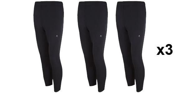 Pack x3 Pantalones térmicos Boomerang baratos en El Corte Inglés