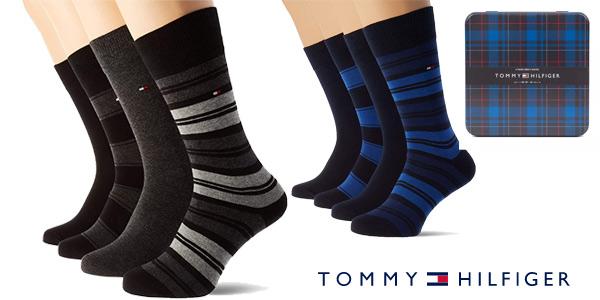 Pack x4 pares de calcetines Tommy Hilfiger para hombre chollo en Amazon
