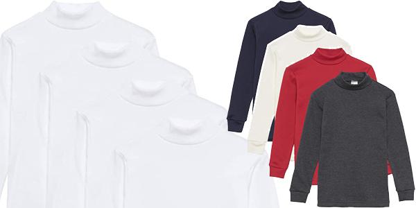 Pack x4 camisetas térmicas infantiles Channo chollo en Amazon