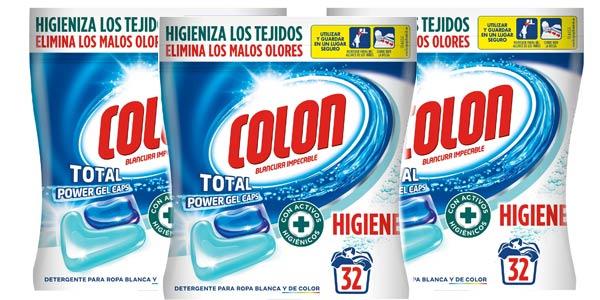 Pack x96 cápsulas Colon Total Power Gel Caps Higiene Blancura Impecable barato en Amazon