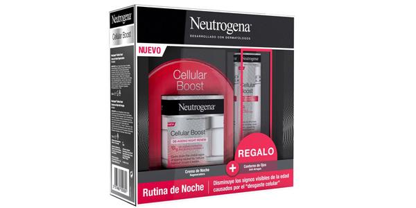 Pack Neutrogena Cellular Boost Antiedad barato en Amazon