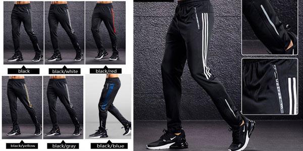 Pantalones deportivos Center para hombre oferta en AliExpress