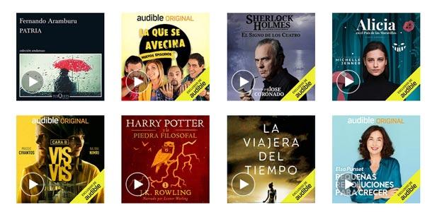 Audible de Amazon 90 días gratis si eres Prime