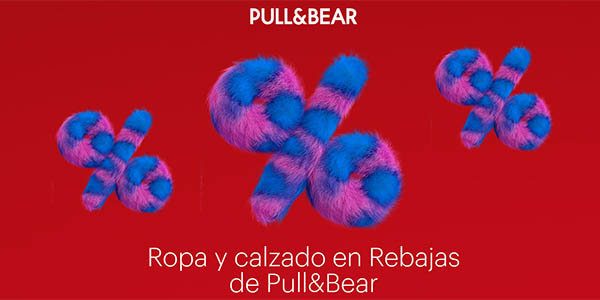 Rebajas de enero Pull & Bear