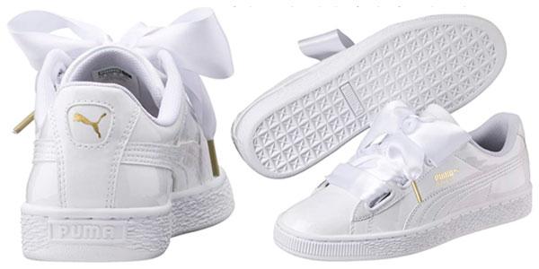 Zapatillas Puma Basket Heart Patent para mujer baratas