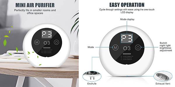 purificador de aire eficiente Acadgq relación calidad-precio alta