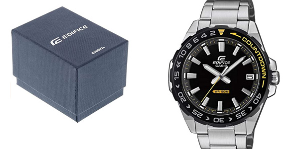 Reloj analógico Casio EFV-120DB-1AVUEF para hombre barato en Amazon