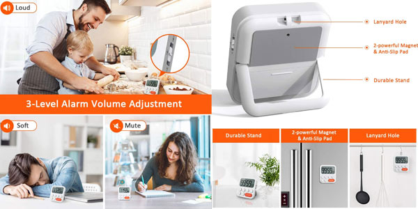 Temporizador de Cocina Digital Liorque oferta en Amazon