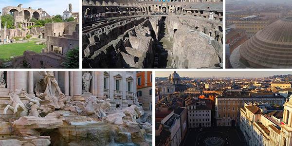 Roma visita virtual monumentos turísticos