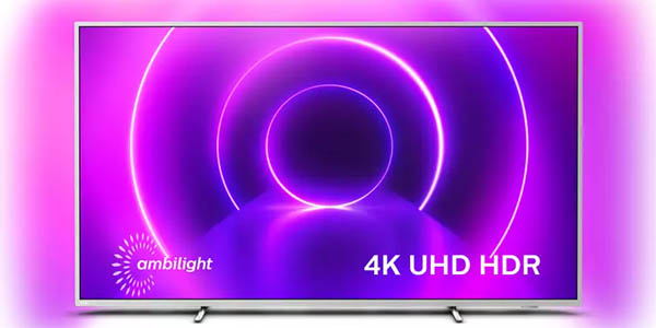 "Smart TV Philips 70PUS8555 de 70"" UHD 4K HDR"