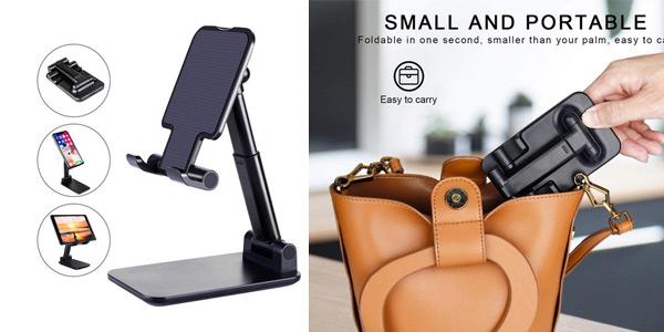 Soporte de escritorio para teléfono móvil o Tablet oferta en AliExpress