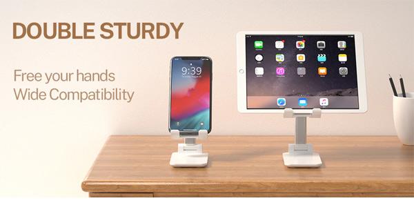 Soporte de escritorio para teléfono móvil o Tablet barato en AliExpress
