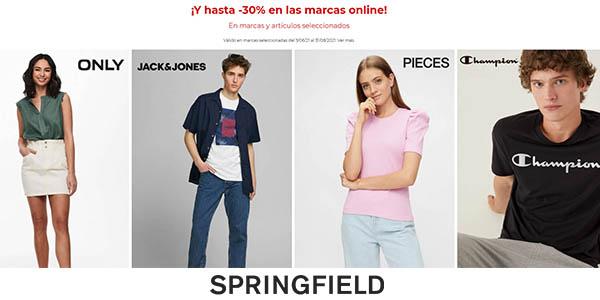 Springfield rebajas ropa marcas calidad 2021