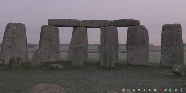Stonehenge visita virtual gratuita