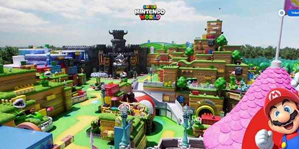 Super Nintendo World tour virtual