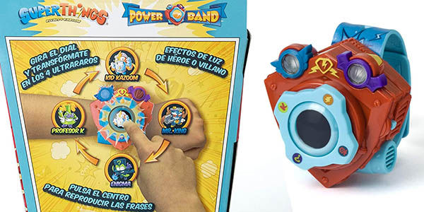 Superzings Rivals of Kaboom Power Band Enigma oferta