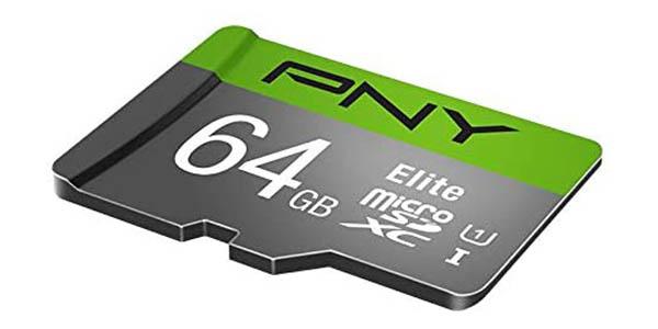 Tarjeta de memoria MicroSDXC PNY Elite de 64 GB