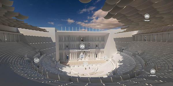 Tarraco romana recorrido online espacios