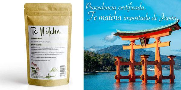 Té verde Matcha Premium Undercover en polvo de 200 gr chollo en Amazon