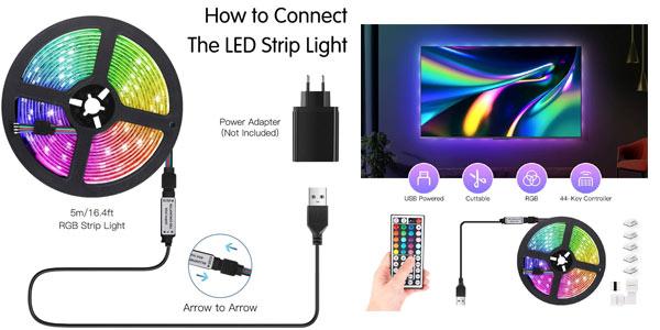 Tira LED AGPTEK en oferta en Amazon