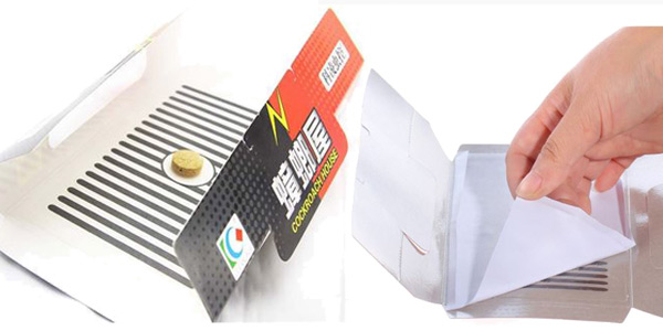 Pack x10 Trampas adhesivas para cucarachas oferta en AliExpress