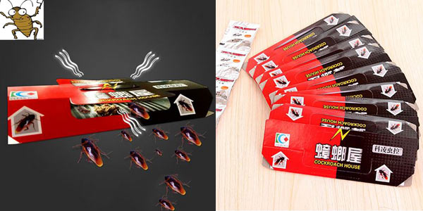 Pack x10 Trampas adhesivas para cucarachas barato en AliExpress
