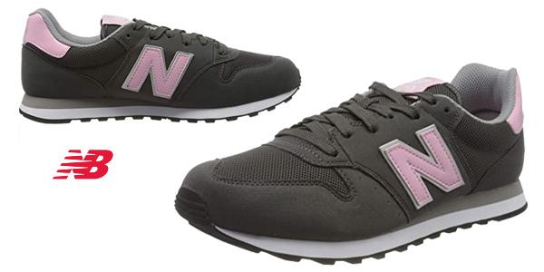 Zapatillas deportivas New Balance 500 para mujer baratas en Amazon