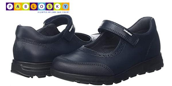 Zapatos Colegiales Pablosky 334120 para niña baratos en Amazon