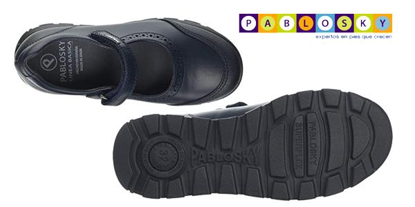 Zapatos Colegiales Pablosky 334120 para niña chollo en Amazon