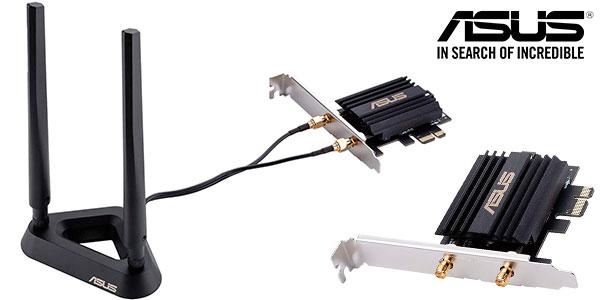 Adaptador de red Asus PCE-AX58BT con Wi-Fi 6 en oferta