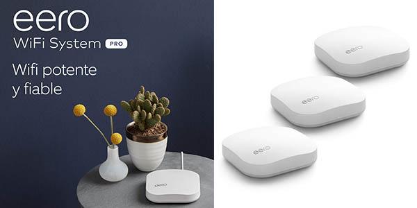 Amazon Eero Pro sistema malla WiFi chollo