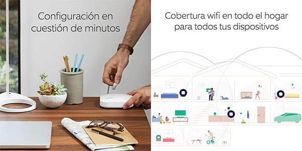 Amazon Eero Pro sistema Wifi malla conexión internet relación calidad precio