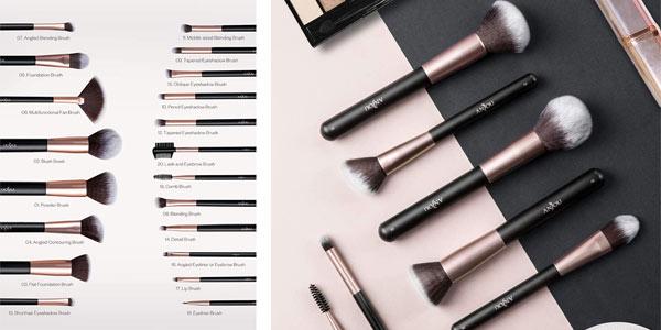 Brochas de maquillaje anjou en oferta en Amazon