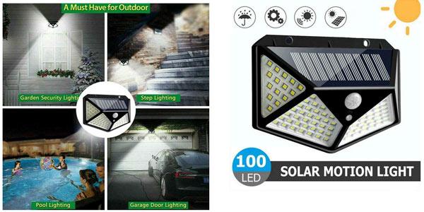 Lámpara Solar LED Romwish barata en AliExpress