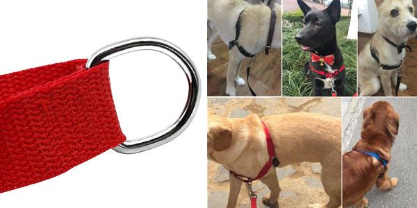 Arnés de nailon sin tirones para perro chollo en AliExpress